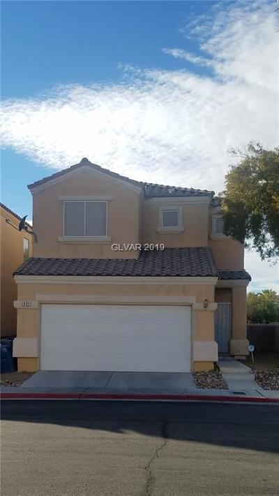 North Las Vegas Single Family Home Under Contract - Show