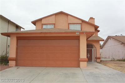 Las Vegas Single Family Home For Sale: 6924 Welsh Circle