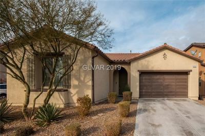 North Las Vegas NV Single Family Home Under Contract - Show: $319,888