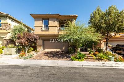 Las Vegas Single Family Home For Sale: 10526 Harvest Wind Drive