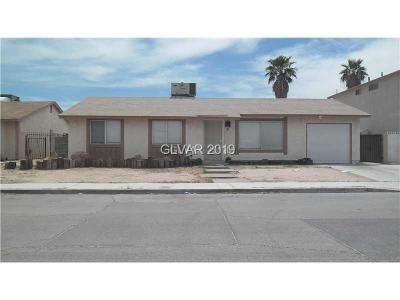 Las Vegas Single Family Home For Sale: 4137 Philadelphia Avenue