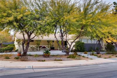 Las Vegas Single Family Home For Sale: 1266 Cashman Drive