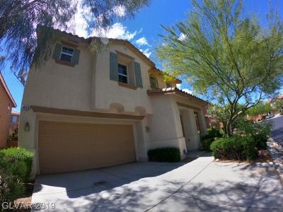 Las Vegas Single Family Home For Sale: 10313 Bobcat Bluffs Street