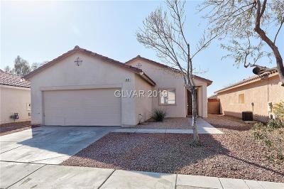 Las Vegas Single Family Home For Sale: 4949 Naff Ridge Drive