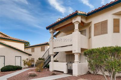 Las Vegas Condo/Townhouse For Sale: 1408 Oak Rock Drive #102