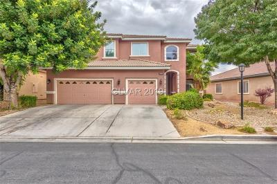 Las Vegas Single Family Home For Sale: 8094 Villa Cano Street