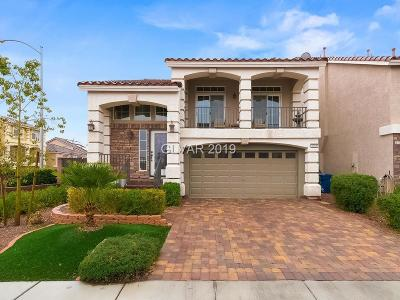 Las Vegas Single Family Home For Sale: 6705 Glissando Court