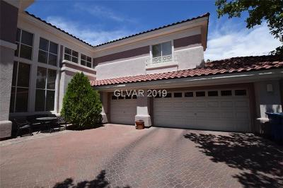 Las Vegas Single Family Home For Sale: 1701 Glenview Drive