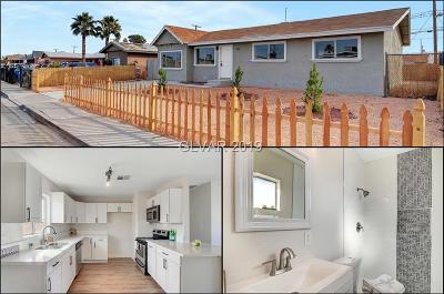 NORTH LAS VEGAS Single Family Home For Sale: 1815 Bluff Avenue