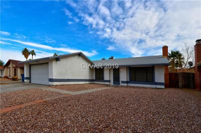 Las Vegas Single Family Home For Sale: 1324 Labrador Drive