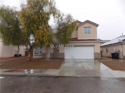 North Las Vegas Single Family Home For Sale: 1528 Hammer Lane