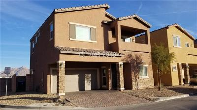 LAS VEGAS Single Family Home For Sale: 1992 Star Creek Bay Lane