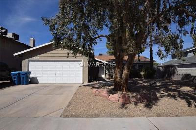 Henderson Single Family Home For Sale: 787 Grape Vine Avenue