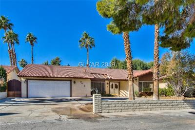 Las Vegas Single Family Home For Sale: 3415 Rochelle Court