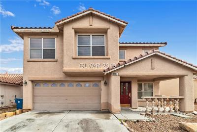 North Las Vegas Single Family Home For Sale: 4104 Coburn Street