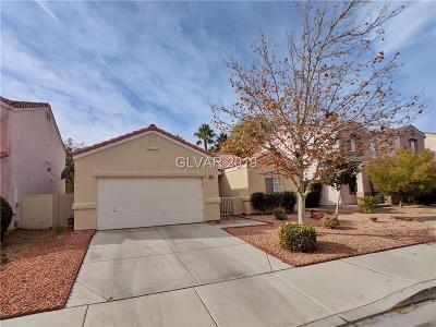Las Vegas Single Family Home For Sale: 1665 Encarta Street