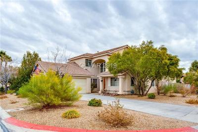 Las Vegas Single Family Home For Sale: 2241 Chasing Star Avenue