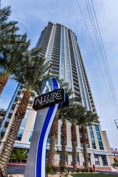 Allure Condo High Rise Under Contract - No Show: 200 Sahara Avenue #1712