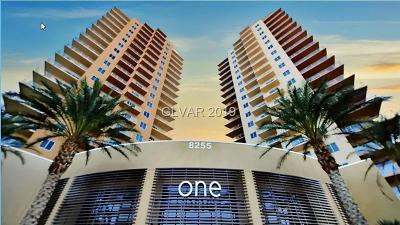 Las Vegas High Rise For Sale: 8255 Las Vegas Boulevard #708