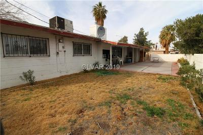 Las Vegas Single Family Home Under Contract - No Show