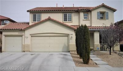 North Las Vegas Single Family Home For Sale: 2308 Ridge Back Court