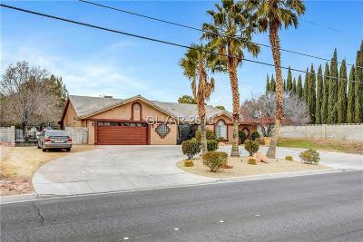 Las Vegas Single Family Home For Sale: 7255 Tenaya Way
