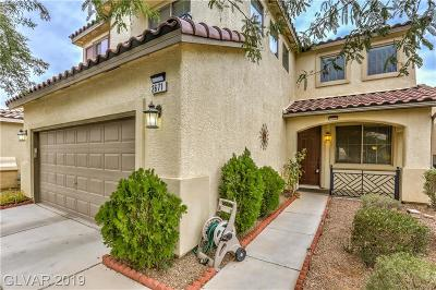 Las Vegas Single Family Home For Sale: 2671 Colina Bella Court