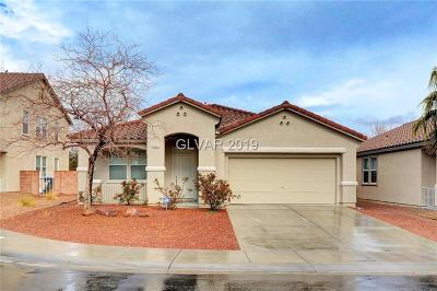 North Las Vegas Single Family Home For Sale: 2312 Saddlebill Court