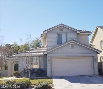 Las Vegas, Henderson Rental For Rent: 10371 Early Morning Avenue