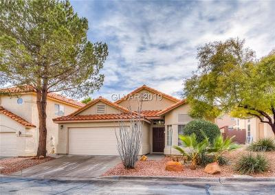 Las Vegas Single Family Home For Sale: 8121 Dolphin Landing Drive
