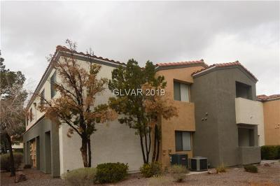 las vegas Condo/Townhouse For Sale: 3151 Soaring Gulls Drive #1101