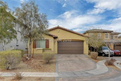 North Las Vegas Single Family Home For Sale: 2124 Leatherbridge Court