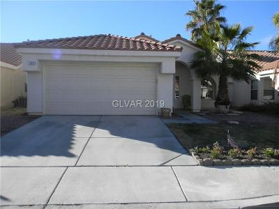 Las Vegas Single Family Home For Sale: 1609 Indian Cove Lane