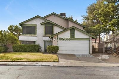 Las Vegas Single Family Home For Sale: 4301 Satinwood Drive