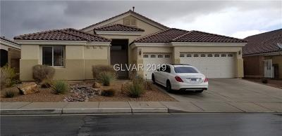 Las Vegas Single Family Home For Sale: 5668 Argenta Habitat Avenue