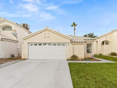 Las Vegas Single Family Home For Sale: 6138 Wild Berry Drive