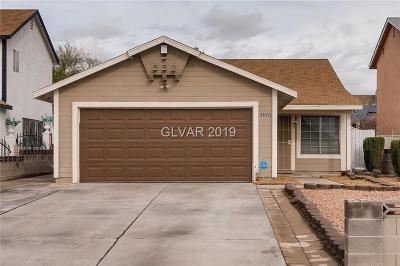 Las Vegas Single Family Home For Sale: 3846 Gowan Road