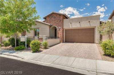 Las Vegas Single Family Home For Sale: 273 Castellari Drive
