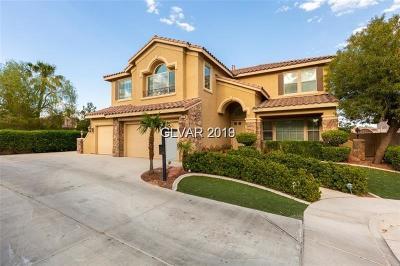 LAS VEGAS Single Family Home For Sale: 2910 Copper Beach Court