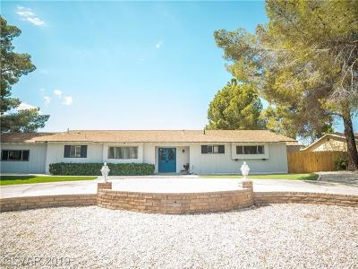 Las Vegas Single Family Home For Sale: 2205 Bridlewood Drive
