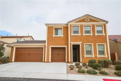 North Las Vegas Single Family Home For Sale: 1016 Bluebird Ridge Court