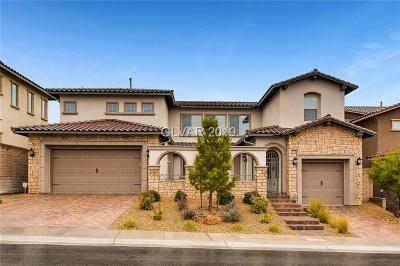 Las Vegas Single Family Home For Sale: 12236 Valentia Hills Avenue