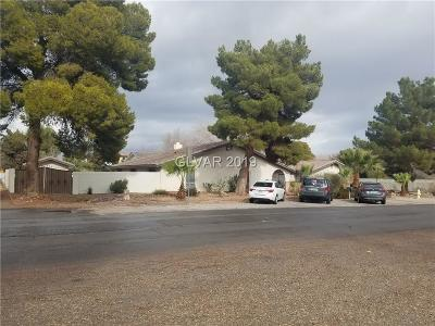 Las Vegas Single Family Home For Sale: 3590 Rochelle Avenue
