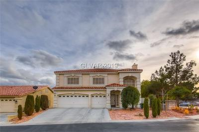 Las Vegas Single Family Home For Sale: 9587 Adobe Arch Court
