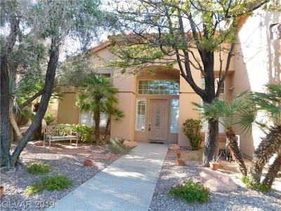 Las Vegas Single Family Home For Sale: 8336 Spinnaker Cove Drive