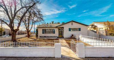 Boulder City Single Family Home Under Contract - No Show: 1501 Fifth Street
