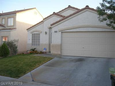 LAS VEGAS Single Family Home For Sale: 8549 Shady Pines Drive