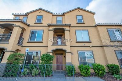 Las Vegas Condo/Townhouse For Sale: 5129 Dubris Drive