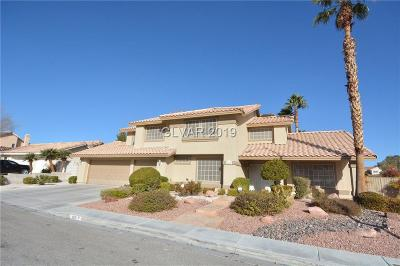 North Las Vegas Single Family Home For Sale: 820 Whitehollow Avenue