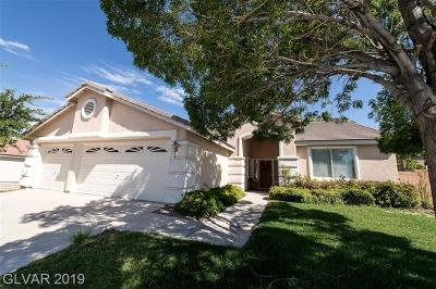 Henderson Single Family Home For Sale: 2250 Early Frost Avenue
